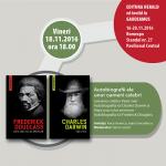 Frederick DOUGLASS și Charles DARWIN la Târgul de carte GAUDEAMUS 2016!