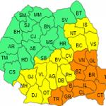 S-a anunțat cod rosu de viscol în Dobrogea, București și S. Moldovei!
